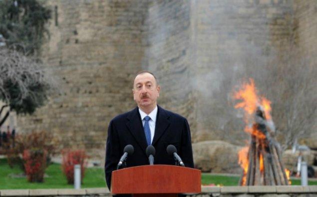 Prezident və xanımı Novruz şənliyində