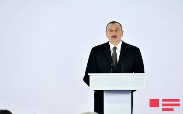 """İlham Əliyev """"İctimai İnternet"""" şəbəkəsinin açılışında iştirak edib"""