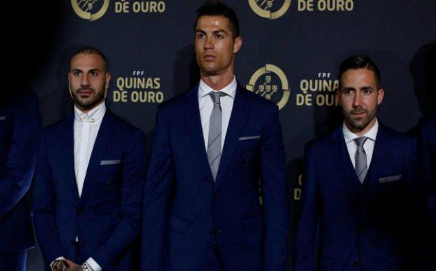 """Ronaldo """"İlin ən yaxşı futbolçusu"""" seçildi - Portuqaliyada"""