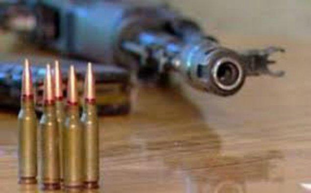 Nardaran sakininin evindən silah-sursat tapıldı