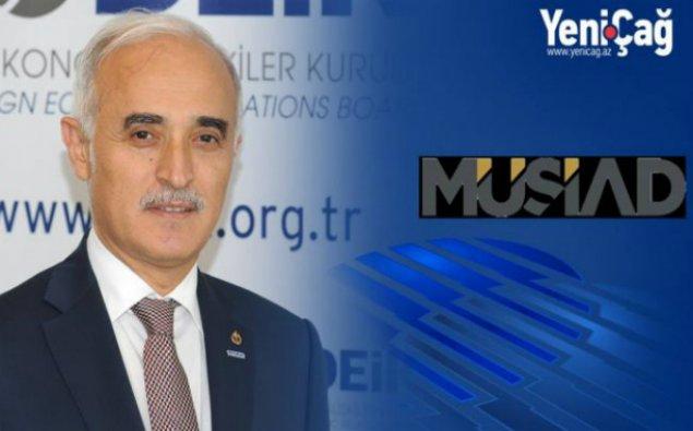 """""""Məqsədimiz ticarət əlaqələrimizi inkişaf etdirməkdir"""" - Nail Olpak"""