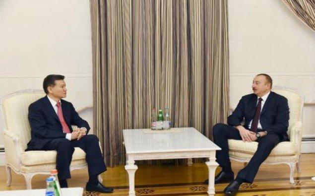 İlham Əliyev Beynəlxalq Şahmat Federasiyasının prezidenti ilə görüşdü - YENİLƏNİB