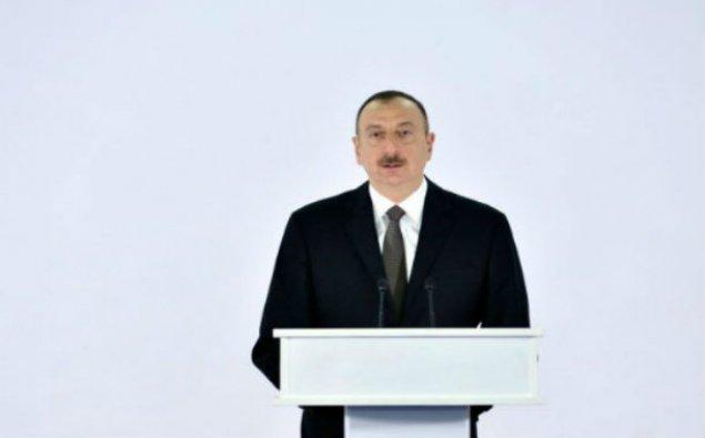 Prezident yeni körpünün açılışında - Fotolar + Yenilənib