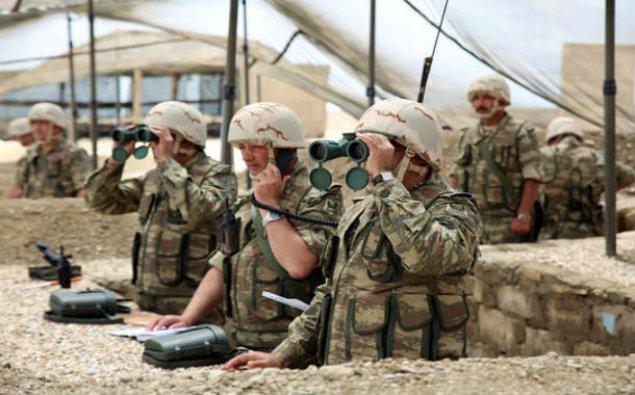 Azərbaycan ordusunun mühəndis istehkam bölmələri ilə taktiki-xüsusi təlim keçirilib - FOTO