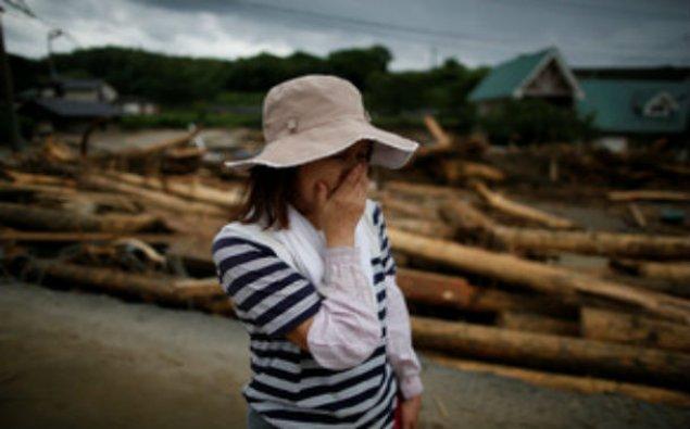 Yaponiyada daşqınlar nəticəsində ölənlərin sayı 32 nəfərə çatıb