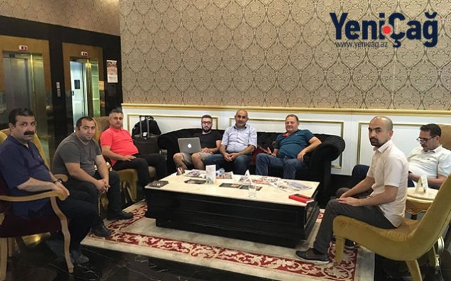 Azərbaycanlı jurnalistlər xarici həmkarlarına Zəhranı anlatdılar - Ankarada