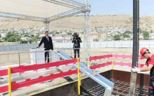 İlham Əliyev jurnalistlər üçün üçüncü binanın təməlini qoydu