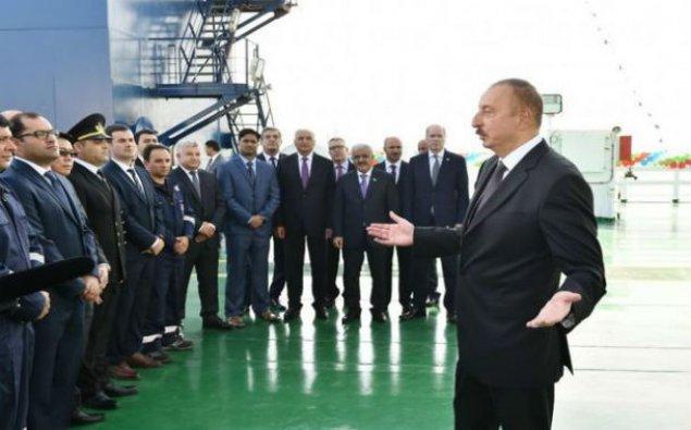 Prezident: Azərbaycan bundan sonra 100 il ərzində özünü və bir çox ölkələri təbii qazla təmin edəcək