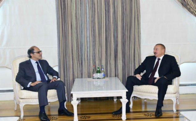 İlham Əliyev BVF-nin Departament direktorunu qəbul etdi - Yenilənib