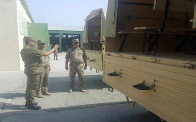 Zakir Həsənov hərbi təyinatlı obyektlərin açılışında - Foto