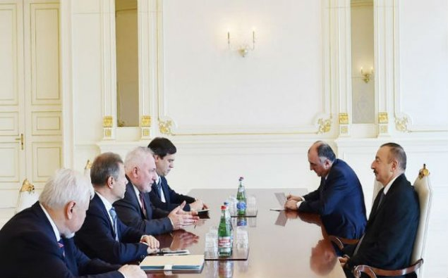 İlham Əliyev ATƏT-in Minsk qrupunun həmsədrlərini qəbul etdi - YENİLƏNDİ