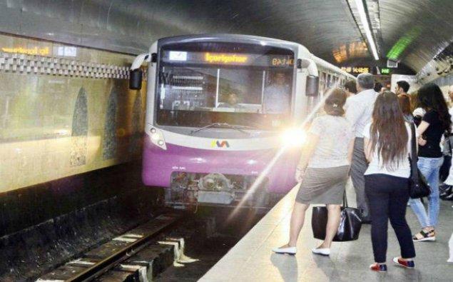 Bakı metrosu 55 mindən artıq sərnişin daşıyıb