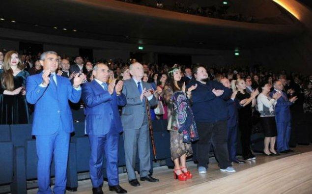 Leyla Əliyeva Tofiq Quliyevin 100 illik yubiley gecəsində – FOTO