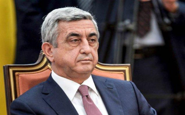 Sarkisyan Rusiyaya səfər edəcək