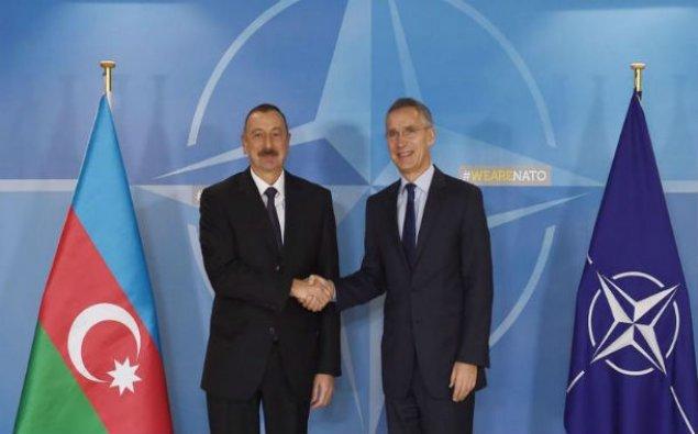 İlham Əliyev Brüsseldə NATO-nun baş katibi ilə görüşdü - YENİLƏNİB
