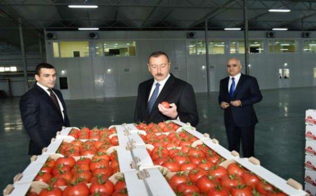 """İlham Əliyev """"BAKU AGROPARK""""da — FOTO + YENİLƏNİB"""