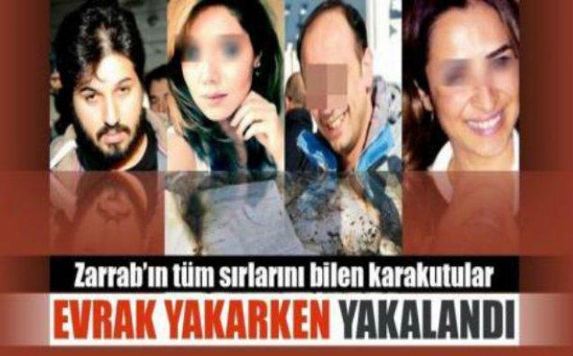 Zərrabın gizli sənədləri yandırıldı: İstanbulda sensasiyalı həbslər