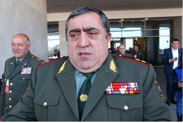 Ermənistan SQ-nin Baş Qərargahının rəis müavini işdən çıxarıldı