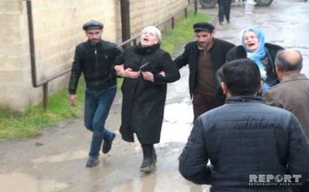 Ana və 4 qızının meyiti basdırıldığı yerdən çıxarıldı - FOTOLAR