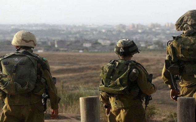 İsrail bu əraziyə hərbi qüvvə cəlb edir