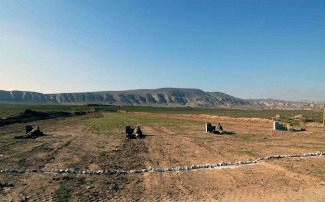 Silahlı Qüvvələr üzrə komandir heyətinin  praktiki vərdişləri yoxlanılır - Fotolar