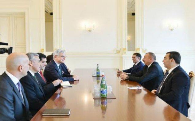 Prezident Volkan Bozkırı qəbul etdi - YENİLƏNİB