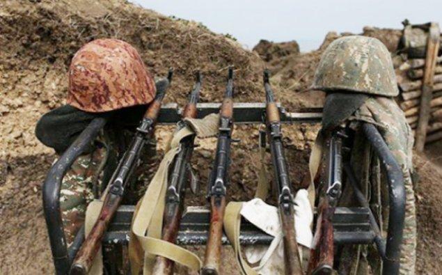 Ermənistan ordusunun əsgəri yaralandı