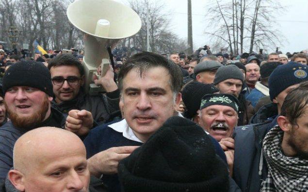Saakaşvili saxlanıldı