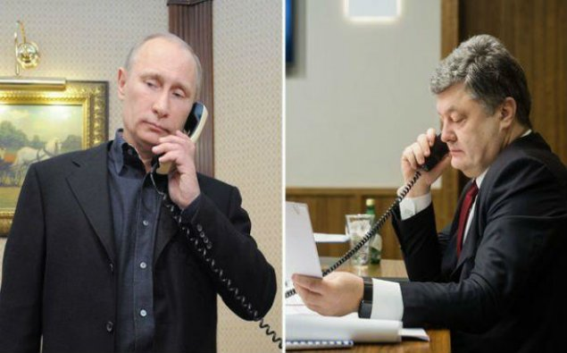 Ukrayna və Rusiya prezidentləri arasında telefon danışığı olub
