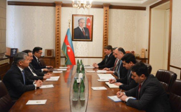 Monqolustanın xarici işlər naziri Azərbaycana gəlib
