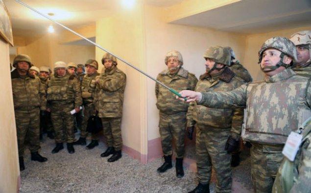 Azərbaycan ordusunun təlimi vaxtı ərazinin kəşfiyyatı aparılıb - VİDEO