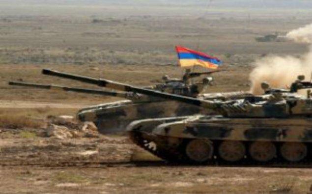 Ermənistan Ordusu Azərbaycan ərazilərində təlim keçir