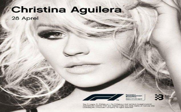 Kristina Agilera Bakıda konsert verəcək