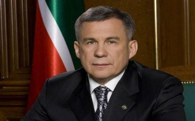 Tatarıstan prezidenti İlham Əliyevi təbrik edib