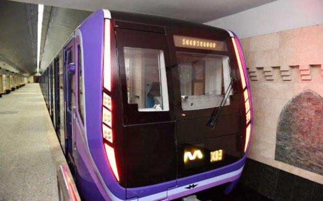 Bakı metrosunun yeni qatarı SABAHDAN xəttə buraxılacaq