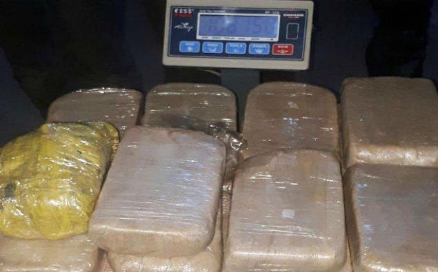 Naxçıvan gömrükçüləri 108 kq heroin aşkar etdi