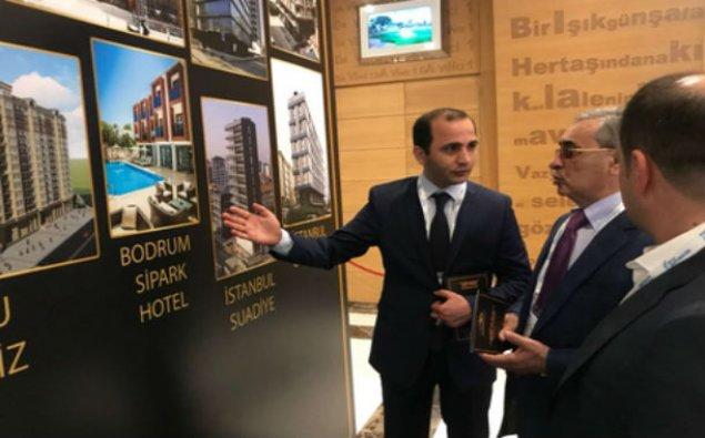 """Antalya Zirvəsində """"Sipark İnşaat""""a böyük diqqət - FOTOLAR"""