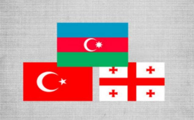 Üç ölkə ali hərbi məktəblərinin rəisləri - Bakıda