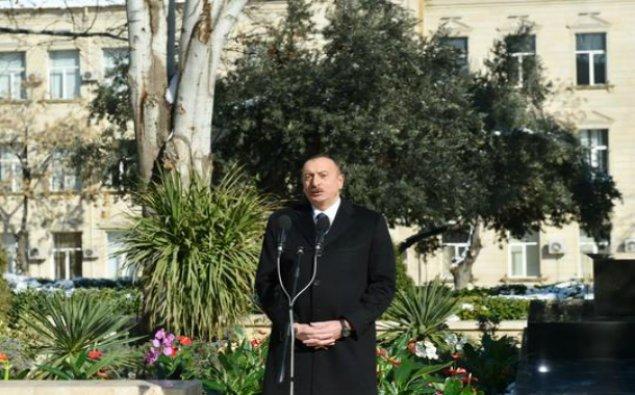 Prezident İlham Əliyev DSX-nin Naxçıvandakı sərhəd dəstəsində oldu