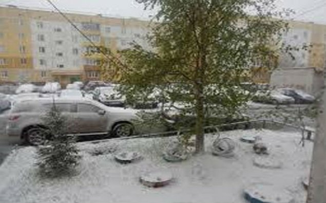 Rusiyaya qar yağdı