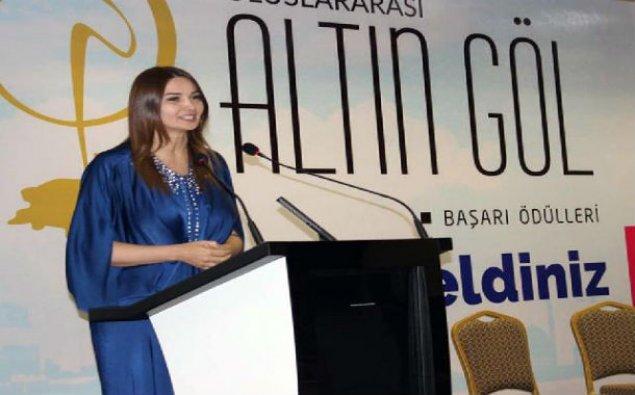 Millət vəkili Beynəlxalq Altın Göl Başarı mükafatına layiq görülüb – FOTO
