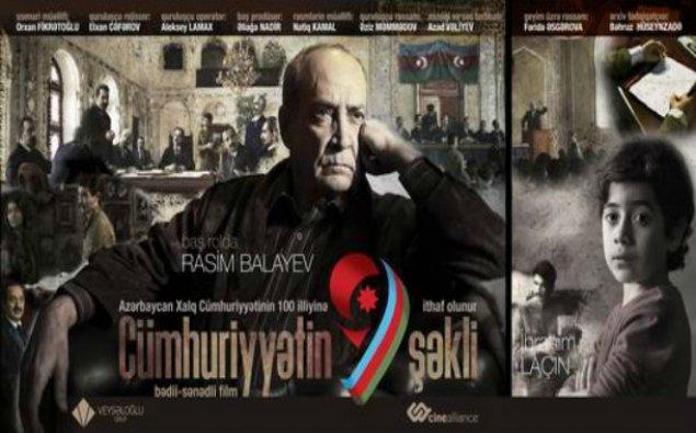 """""""Cümhuriyyətin 9 şəkli"""" bədii-sənədli filmi təqdim olunub"""