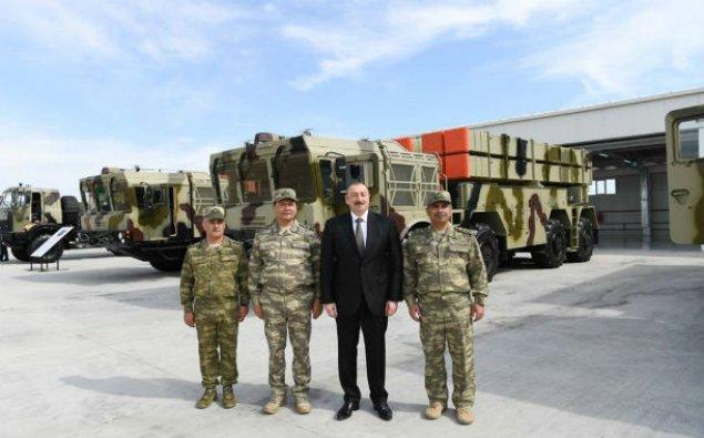 Ali Baş Komandan hərbi hissənin açılışında - FOTOLAR
