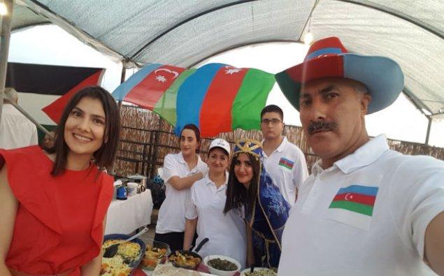 Azərbaycan diasporu milli xörəkləri Salonikidə təqdim edib – FOTO