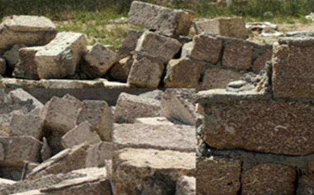 Abşeronda hasar kişinin üstünə aşdı