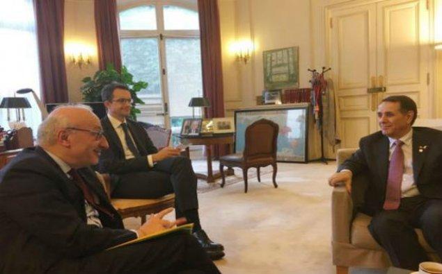 Novruz Məmmədov Fransa prezidentinin diplomatik müşaviri ilə görüşdü
