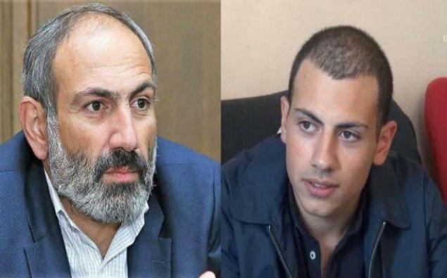 Paşinyanın oğlu Qarabağa hərbi xidmətə yollandı