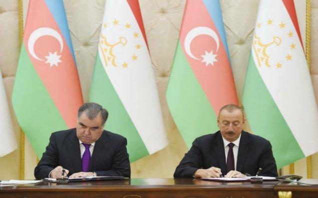 Azərbaycan-Tacikistan sənədləri imzalandı – FOTO