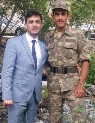 Niyaməddin Orduxanlı generalla görüşdü