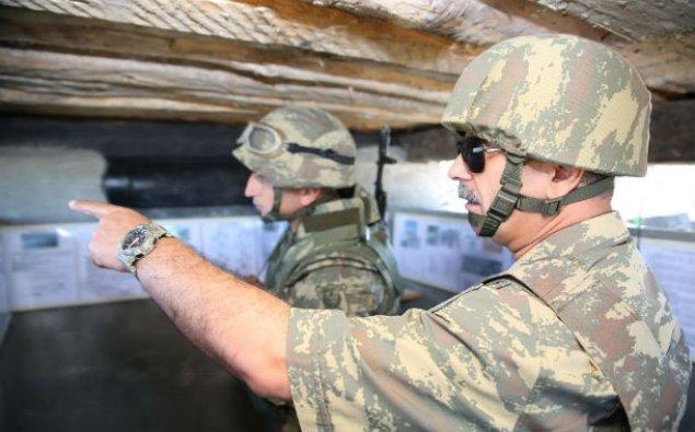 Müdafiə naziri orduya tapşırıqlar verdi - FOTO